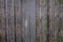 Parete di legno di una casa rurale giapponese Immagine Stock Libera da Diritti
