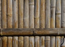 Parete di legno di una casa tradizionale giapponese Fotografie Stock