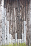 Parete di legno - verticale Immagine Stock Libera da Diritti