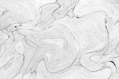 Parete di marmo bianca astratta di struttura del modello di onda per interior design fotografia stock libera da diritti