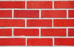 Parete di mattoni rossi Fotografia Stock Libera da Diritti