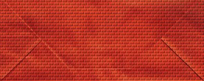 Parete di mattoni rossi Immagini Stock