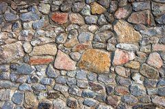 parete di pietra Fotografia Stock Libera da Diritti