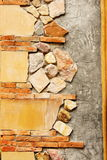 parete di pietra Fotografie Stock