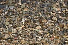 Parete di pietra. Immagini Stock