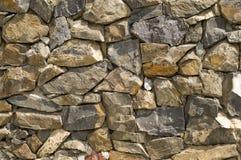 Parete di pietra. Fotografie Stock