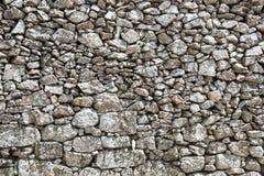 Parete di pietra all'aperto Fotografia Stock Libera da Diritti