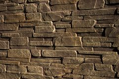 Parete di pietra di arenaria Fotografie Stock Libere da Diritti