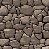 Parete di pietra astratta Reticolo senza giunte royalty illustrazione gratis
