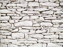 Parete dalla pietra bianca immagine stock. Immagine di struttura - 19565697