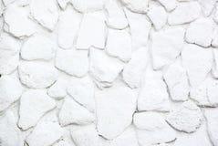 Parete di pietra bianca per fondo fotografia stock libera da diritti