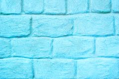 Parete di pietra blu invecchiata per fondo fotografie stock