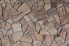Parete di pietra con struttura Fotografie Stock Libere da Diritti