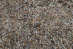 Parete di pietra 01 del ciottolo sporco Fotografia Stock Libera da Diritti