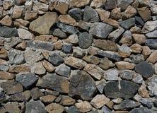parete di pietra del mattone Fotografie Stock Libere da Diritti