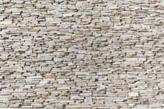 Parete di pietra della decorazione dell'ardesia Immagine Stock Libera da Diritti