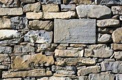 Parete di pietra della muratura Immagine Stock Libera da Diritti
