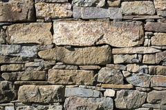 Parete di pietra della muratura Immagini Stock Libere da Diritti