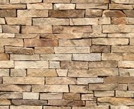 parete di pietra della piastrellatura senza giunte di 100% Fotografia Stock Libera da Diritti