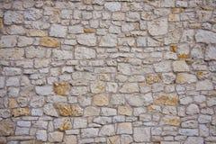 parete di pietra della priorità bassa astratta Fotografie Stock Libere da Diritti