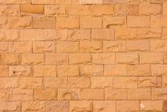 Parete di pietra della sabbia Fotografia Stock Libera da Diritti