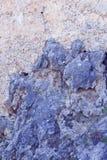 Parete di pietra Fondo fondo Grigio-blu pietre Fotografia Stock Libera da Diritti