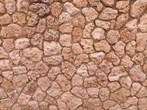 Parete di pietra grigia decorativa Fotografie Stock