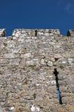 Parete di pietra medioevale di Tenby Fotografia Stock Libera da Diritti