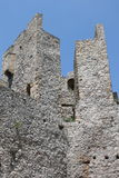 Parete di pietra in monastero Manasija Immagine Stock Libera da Diritti