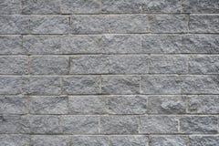Parete di pietra, muratura, pietra, grigia Fotografia Stock