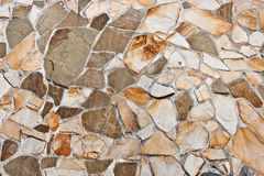 Parete di pietra naturale Immagine Stock