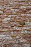 Parete di pietra naturale - fondo Immagini Stock