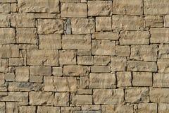 Parete di pietra nel Croatia Fotografia Stock