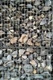 Parete di pietra, protezione dei detriti Immagine Stock