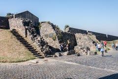 Parete di pietra Uruguai di Sacramento del del di Colonia Fotografia Stock
