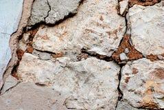Parete di pietre rotte Fotografie Stock Libere da Diritti