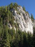 Parete di scalata di montagna Fotografia Stock