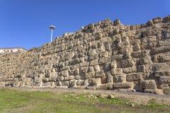 Parete di Servius a Roma Fotografia Stock