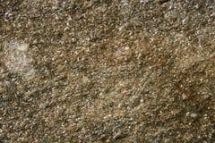 Parete di struttura della pietra di Brown Fotografie Stock Libere da Diritti