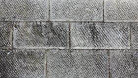 Parete di struttura rettangolare grigia delle pietre Fotografia Stock Libera da Diritti