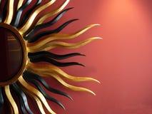 Parete di Sun Fotografie Stock Libere da Diritti