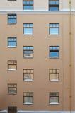 Parete di una costruzione moderna. Fotografie Stock Libere da Diritti