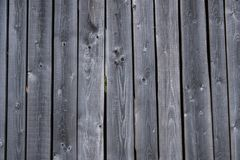 Parete di vecchio fondo dell'annata dei bordi di legno fotografia stock