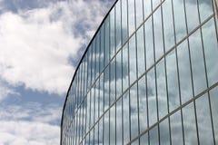 Parete di vetro del corridoio di città Almere Fotografia Stock Libera da Diritti