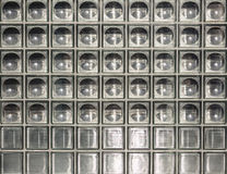 Parete di vetro trasparente Fotografia Stock