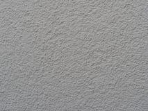 Parete dipinta bianco con gesso strutturale Fotografia Stock