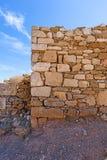 Parete Drystone immagine stock