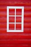 Parete e finestra di legno fotografia stock