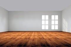 Parete e finestra interne del briciolo Fotografie Stock Libere da Diritti