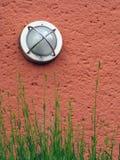 parete esterna arancione-chiaro immagine stock